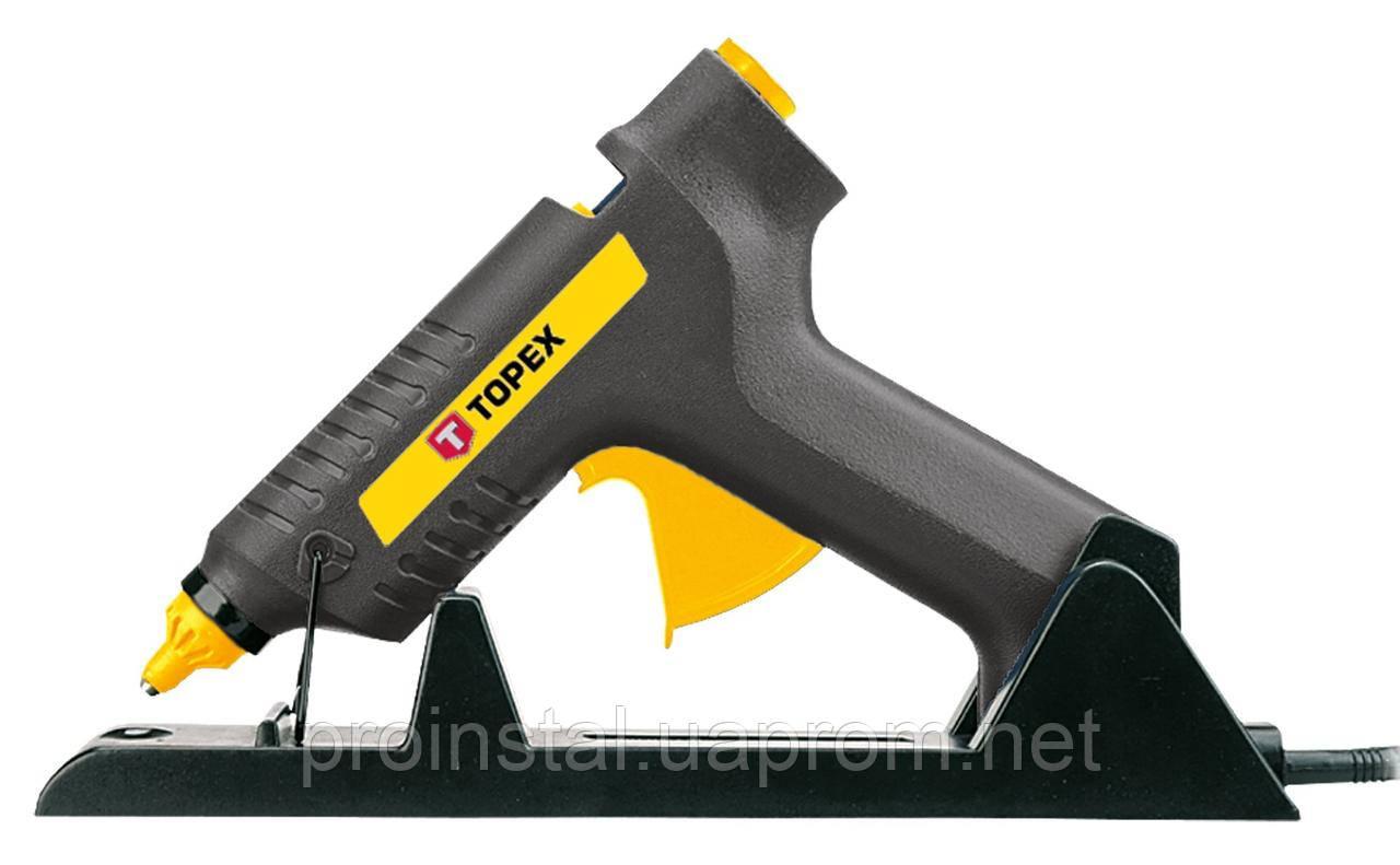 Пистолет клеевой TOPEX, 11 мм, 80Вт, беспроводной