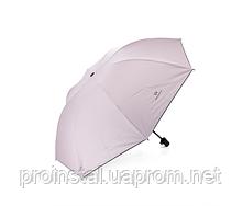 Полуавтоматический зонт, D-96см, защита от солнца, UV (99%), защита от дождя, каркас - Al+Fe, Pink