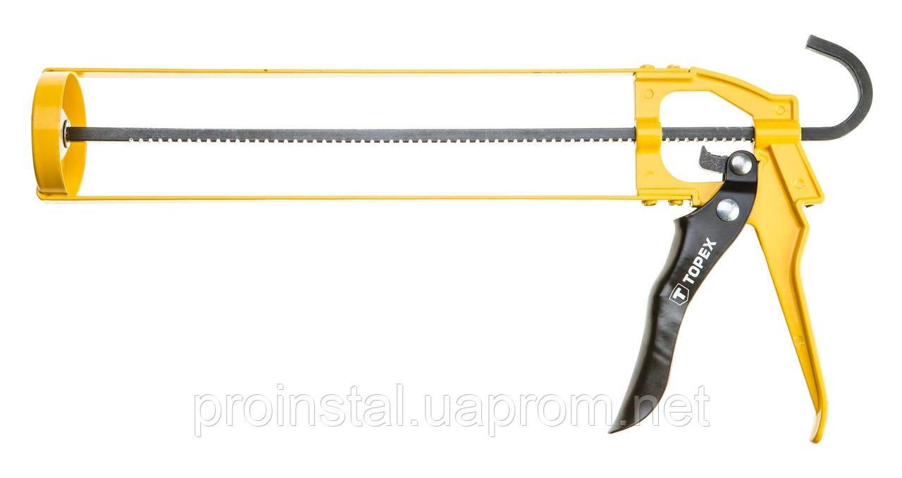 Пистолет TOPEX для герметика каркасный