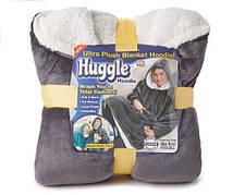 Толстовка плед з капюшоном Huggle Hoodie