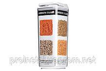 Контейнер для сыпучих Ardesto Fresh, 1.7л, белый, пластик