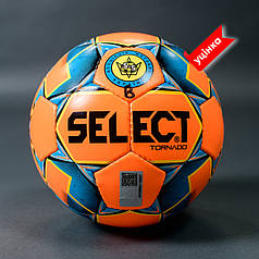 Мяч футзальный SELECT FUTSAL TORNADO FIFA B-gr (без лого FIFA),  (011) оранж/синий