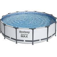 Bestway КаркасныйбассейнBestway56950(427х107 см) с картриджным фильтром, тентом и лестницей