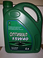 Масло моторное Оптимал 15W40 4л