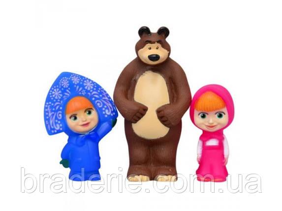 Набор игрушек-пищалок Маша и Медведь (2 Маши) 898, фото 2