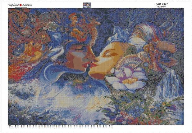 КДІ-0397 Набір алмазної вишивки Поцілунок. Художник Josephine Wall, фото 2