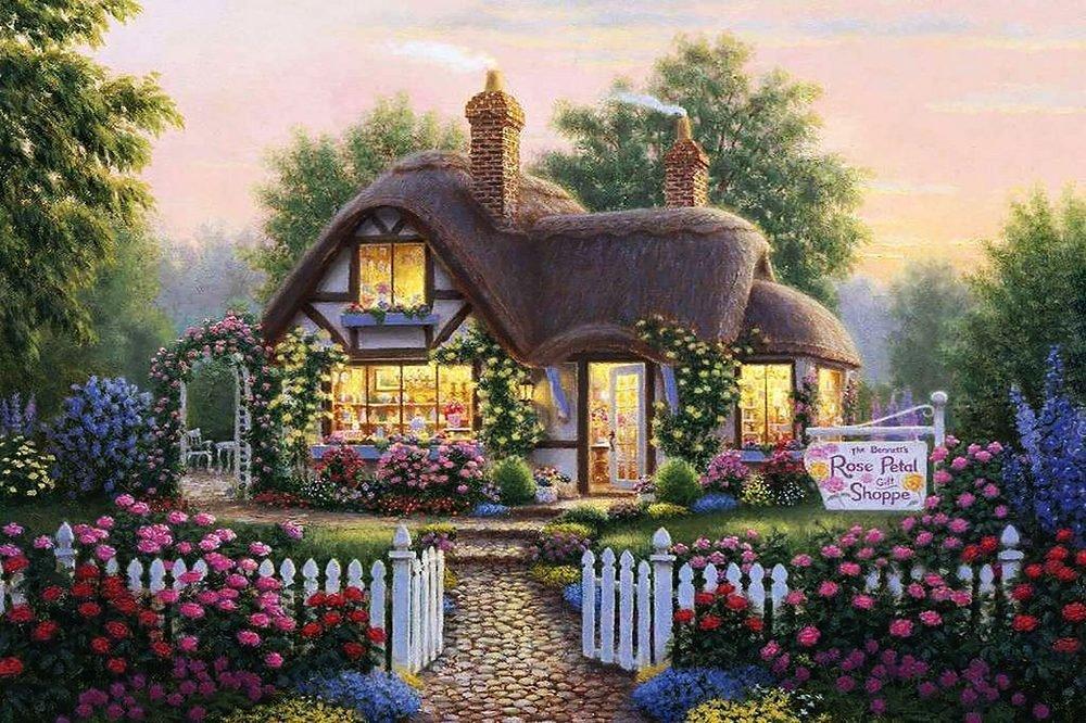 КДІ-0568 Набір алмазної вишивки Будинок мрії-2. Художник Richard Burns
