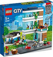 Детский Конструктор Lego City Современный дом для семьи 60291, фото 1