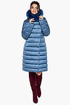 Зимняя аквамариновая куртка женская модель 31094 (ОСТАЛСЯ ТОЛЬКО 50(L)), фото 3