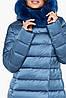 Зимняя аквамариновая куртка женская модель 31094 (ОСТАЛСЯ ТОЛЬКО 50(L)), фото 4