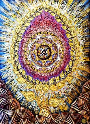 КДІ-0681 Набір алмазної вишивки Амулет. Народження жіночої енергії, фото 2