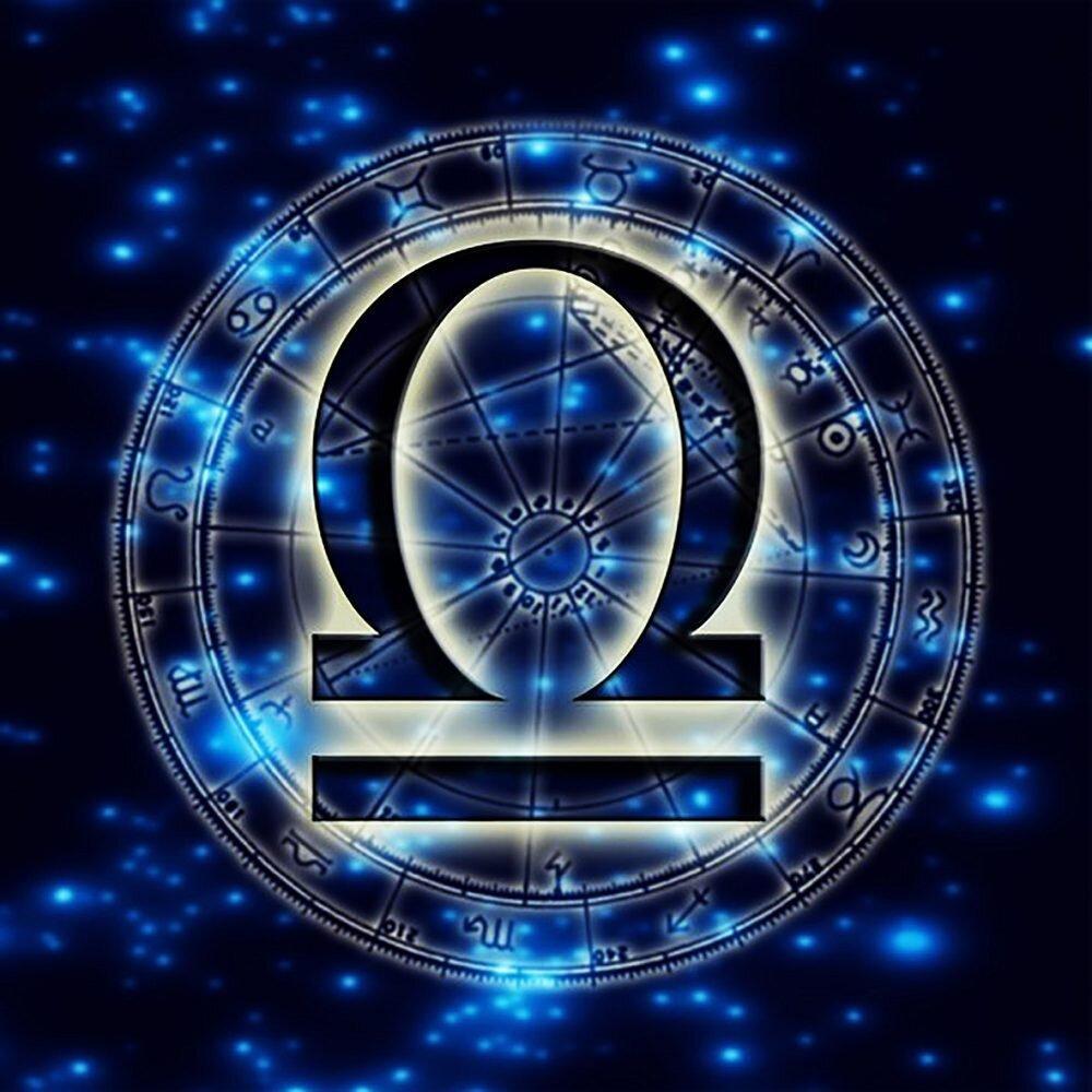 КДИ-0689 Набор алмазной вышивки Знак зодиака. Весы