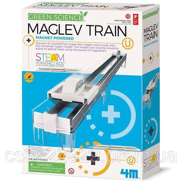 Набір для досліджень 4M Поїзд на магнітній подушці (00-03379)