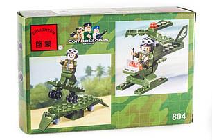 """Конструктор """"Военный самолёт"""" 50 деталей Brick-804, фото 2"""