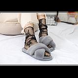 Напівпрозорі шкарпетки з квітковим мереживом, фото 7
