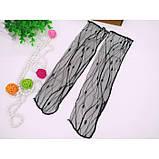 Чёрные полупрозрачные носочки для девушек, фото 6
