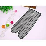 Чёрные полупрозрачные носочки для девушек, фото 7