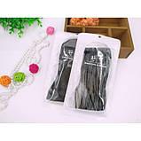Чёрные полупрозрачные носочки для девушек, фото 8