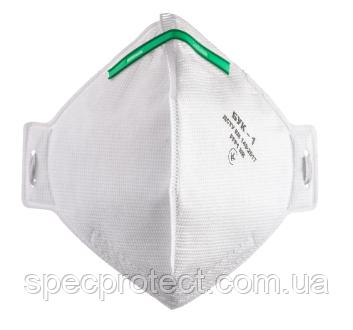 Полумаска фильтрующая БУК - 1, без клапана