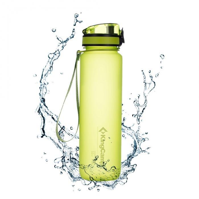 Пляшка для води KingCamp Tritan Bottle 1000ML light green