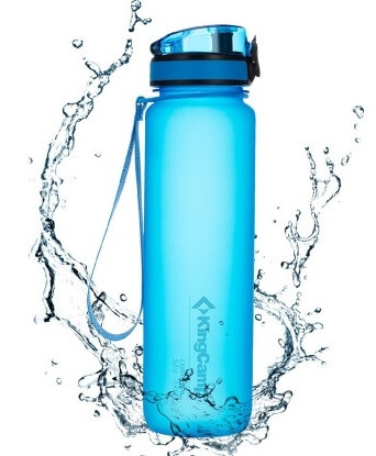 Бутылка для воды KingCamp Tritan Straw Bottle 500ML (blue)