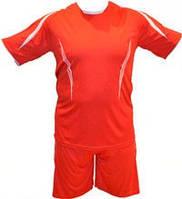 Форма футбольная взрослая, цвет-красный XL.