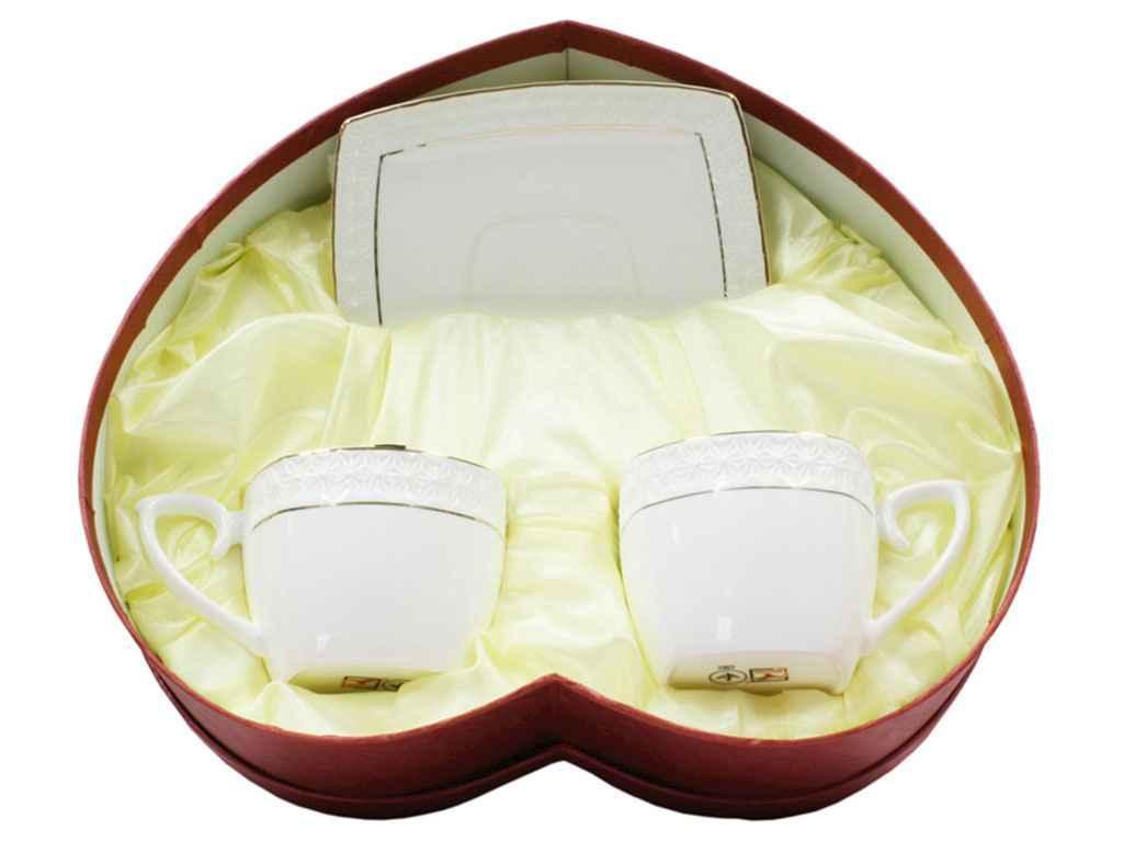 Сервиз чайный Korall Снежная королева 4 предмета (S507009-AGIFT)