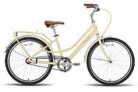 "Велосипед 26"" PRIDE ROADSTER рама - 18"" бежевый матовый 2016"