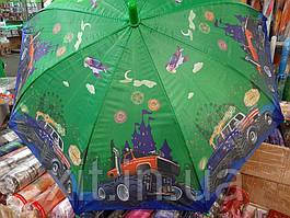 Детский зонт трость Внедорожник - 4