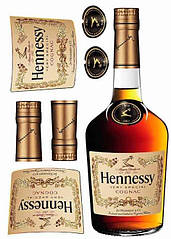 "Вафельна картинка  ""Hennessy"""