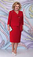 Платье Ninele-5798/2 белорусский трикотаж, красный, 54