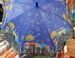 Детский зонт трость Внедорожник - 6