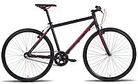 """Велосипед 28'' PRIDE BULLET рама - 18"""" черно-красный матовый 2016"""