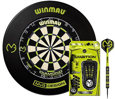 Фирменный английский набор для игры в дартс Winmau Англия