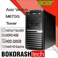 Системний блок Acer Veriton M670G / tower / E8500 / DDR3-4GB / HDD-320GB (к.00101181), фото 1