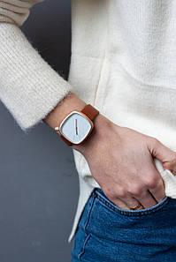 Годинник FAMO Жіночі годинники Домінік коричневі 23*19*1.7 (5-1) #L/A
