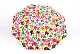 Дитячі парасолі FAMO Парасолька дитячий Принцеса зелений Діаметр купола 114.0(см)/ Довжина спиці 47.0(см)/ Довжина в складеному вигляді 66.0(см) (RST037) #L/A