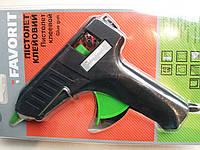 Пистолет клеевой  40 Вт,  FAVORIT  12-100