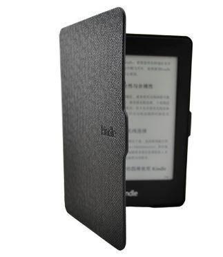 Чохол обкладинка для Amazon Kindle Paperwhite 2013 чорний DP75, фото 2
