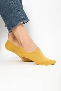 Жіночі шкарпетки FAMO Следка Мадлен жовтий 36-39 (NF-2009) #L/A