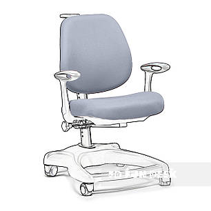 Чохол для крісла FunDesk Delizia Grey, фото 2