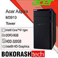Системний блок Acer Aspire M3910 / Tower - 1156 / DDR3-8GB / HDD-320GB / Intel core  i7-1gen (к.00100436-2), фото 1