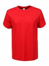 Червона футболка чоловіча однотонна