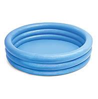 Детский надувной  бассейн Синий Кристал Intex 59416NP