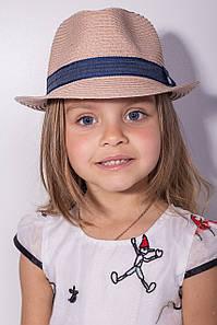 Дитячі капелюхи FAMO Капелюх дитяча Барбадос пудра 50 (SHLD1801) #L/A