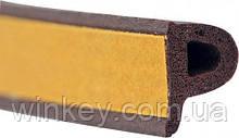 Уплотнитель самоклеющийся Stomil Sanok SD 39 9х5.5 коричневый 100м