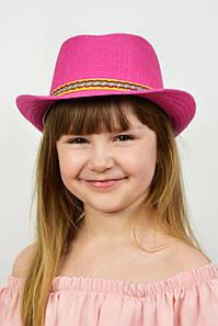 Дитячі капелюхи FAMO Капелюх дитяча Муреа малинова 52 (SHLD1802) #L/A