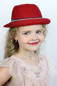 Дитячі капелюхи FAMO Капелюх дитяча Ферб червона One size (SHLD1807) #L/A