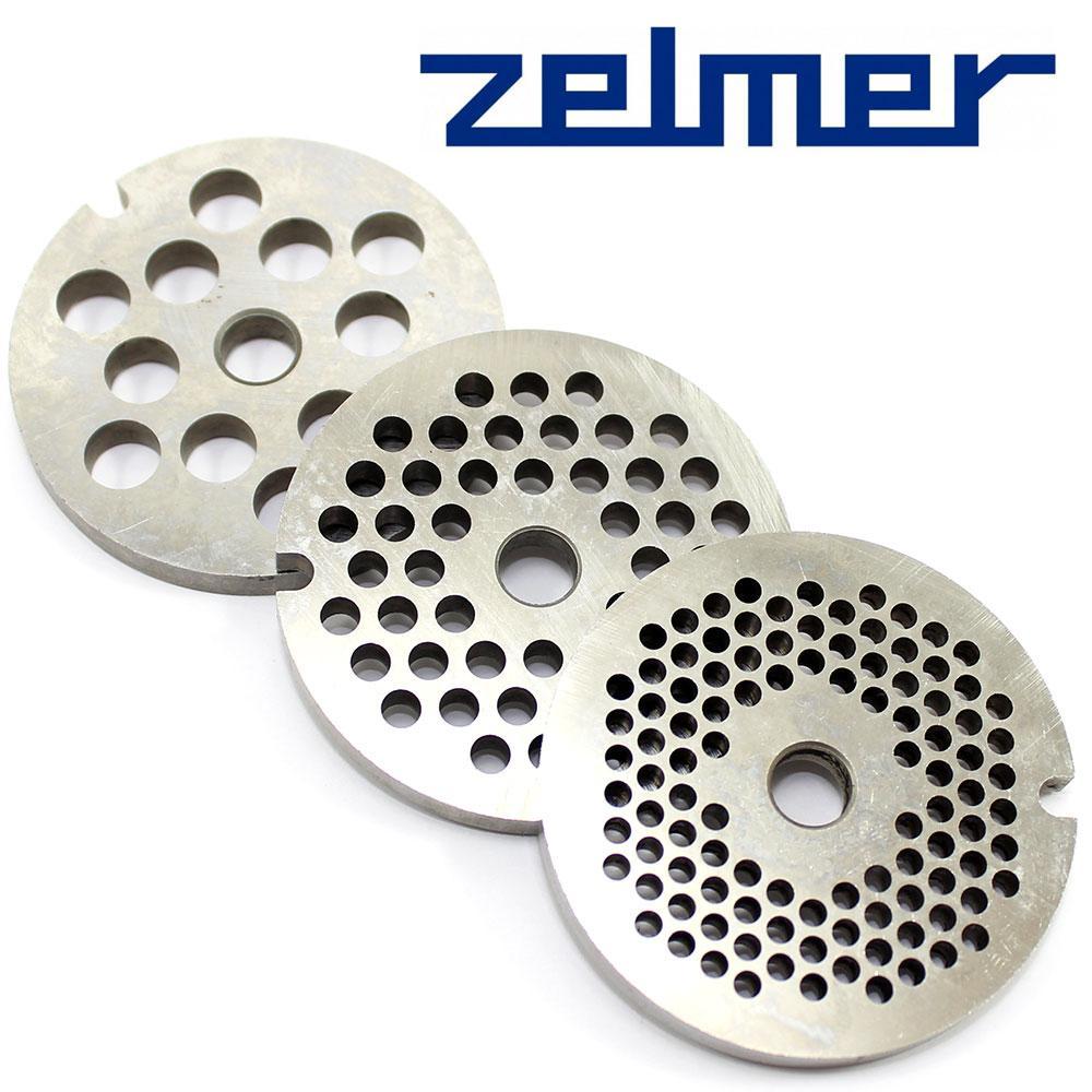 Решетка для мясорубки сетка Zelmer NR8 (комплект из 3 штук)