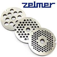Решетка для мясорубки сетка Zelmer NR8 (комплект из 3 штук), фото 1